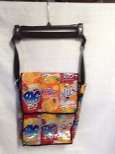 Juice BAGS Handmade Tote Backpack Back Pack Large 10.5 x 13.5 x 3.75 VGC Cute