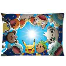 Brand New Pokemon Rectangle Pillow Case 20x30 Inch(One Side)