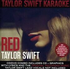 CD + DVD Set Red Karaoke Edition - Taylor Swift Sealed New ! 2013 !