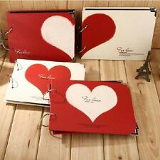 """For Love"" 1pc Photo Picture Album DIY Photo Book Baby Kids Wedding Polaroid"