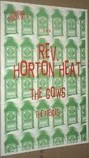 Reverend Horton Heat + The Mieces+TheCows RARE LIVE 1995 CONCERT GIG POSTER Rev