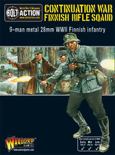 Warlord Games Bolt Action BNIB Finnish Infantry Boxed Set (9 man) WGB-FN-02