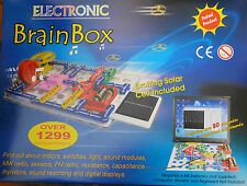 MASSIVE 1299 BRAINBOX ELECTRONIC KIT LED SOLAR PANEL VU METER WEEKS OF FUN