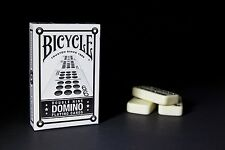 1 Deck Bicycle Domino Double Nine Back Playing Cards 9 Card Tile Game Travel