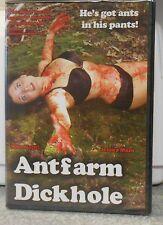 Antfarm Dickhole (DVD, 2011) RARE BRAND NEW BILL ZEBUB HORROR FILM