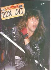 BON JOVI California plates magazine PHOTO / Pin Up / Poster 11x8""