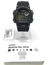 NEW Casio Vibration Alarm Men's Chronograph Quartz Watch - W-735H-1AVDF