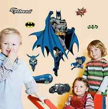 SUPER Hero Batman Wall Stickers Decals Vinyl Art Kids Boys Room Nursery Decor UK