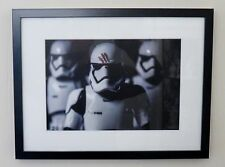 "Star Wars ""Finn and Stormtroopers"" Toy Art Framed A4 Printed Poster Prints Image"