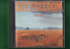 GRIDO DI LIBERTA' COLONNA SONORA OST CRY FREEDOM CD APERTO