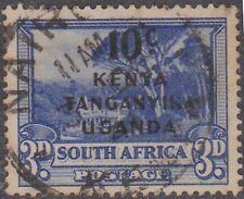 (Q6-22) 1941 Kenya 10c O/P on3d South Africa stamp