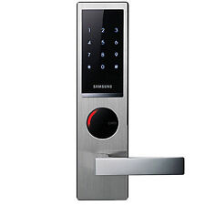 NEW SAMSUNG SHS-H630 Key Less Handle Smart Digital Door Lock w/ 4EA Touch-tags
