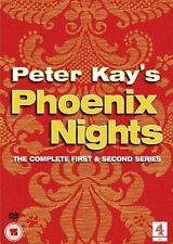 PETER KAY PHOENIX NIGHTS COMPLETE SERIES 1 + 2 ALL EPISODES BOX SET New UK DVD