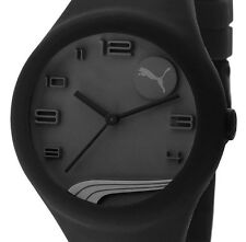 PRE-OWNED PUMA $70 Men's Form Black Analogue Watch PU103001002 MISSING CROWN