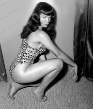 8x10 Print Sexy Model Pin Up Bettie Page Nudes #BP2329