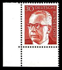 BUND Heinemann  40 Pf. **, Mi. 639 - Eckrand u.l. Luxus