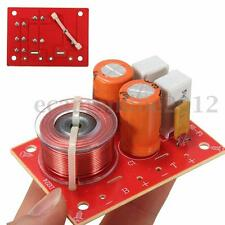 Adjustable 2 Way Hi-Fi Audio Speaker Frequency Divider Stereo Crossover Filters