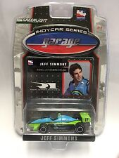 Jeff Simmons 2007 #17 1:64 Green Light DIE CAST Indycar Series Ethanol Car