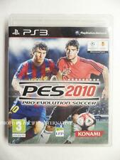 jeu PES 2010 sur PS3 playstation 3 sony en francais foot ball soccer sport spiel