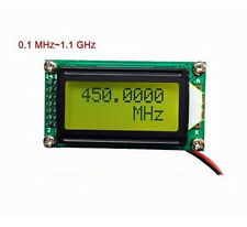 1 MHz ~ 1.1 GHz Frequency Counter Tester Measurement For Ham Radio PLJ-0802-C