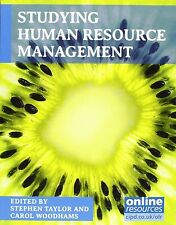 Studying Human Resource Management by Stephen Taylor, Carol Woodhams...