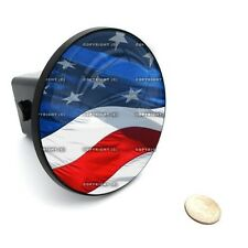 """2"""" Tow Hitch Receiver Cover Insert Plug for Most Truck & SUV - USA FLAG"""