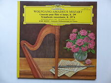 MOZART Concerto pour flûte et harpe K.299 SCHULZ ZABALETA dir BOEHM 2530715