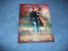 2001 Rock Star Movie Magazine Ad with Mark Wahlberg