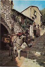 BF13658 dans un vieux village donkey anne france  front/back image