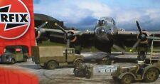 Raf WW2 bomber re-supply set armes, véhicules, bowser, équipement au sol 1/72