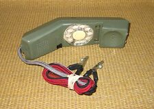 Northern Telecom Phone 1967 | VINTAGE Lineman's Test Rotary Green Telephone