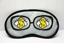 Sleep Masks eye mask Lovely proud funny Look unfamiliar money $ sleeping AB58