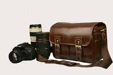 PU Leather AF Photograph DSLR  Camera Bag For NIKON CANON SONY FUJI PENTAX LEICA