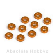XRAY T2 Aluminum Shim 3x6x2.0mm Orange (10) - XRA303123-O