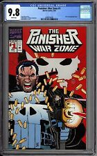 Punisher War Zone 1 CGC Graded 9.8 NM/MT John Romita JR Marvel Comics 1986