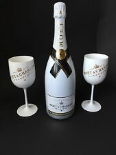 MOËT CHANDON Ice Imperial Champagne 1,5l 12% vol + 2 Ice Imperial Acrylique verres