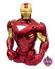 NEW MARVEL COMICS IRON MAN BUST OFFICIAL MONEY BOX PIGGY BANK SAVINGS JAR