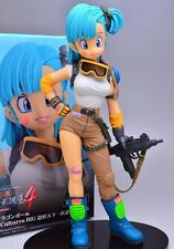 Figura de accion Banpresto SCultures Dragon Ball Z Bulma PVC Action Figure 20CM