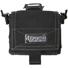 "New! Maxpedition Mega Rollypoly Folding Dump Pouch Black 8"" x 11"" 0209B"