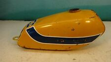 1973 Suzuki TS185 TS 185 S423. yellow gas fuel petrol tank