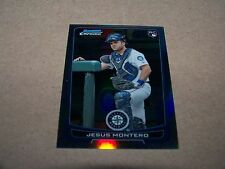 SEATTLE MARINERS JESUS MONTERO 2012 BOWMAN CHROME REFRACTOR #30 ROOKIE CARD RC