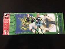 TICKET MATCH CL WC 1998 UKRAINE - NORTH OF IRELAND 1997