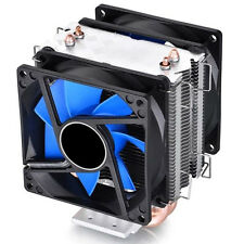 Dual Fan CPU Quiet Cooler Heatsink for Intel LGA1150 LGA1151 1155 775 1156 AMD