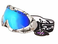 RAYZOR UV400 ANTI FOG DOUBLE LENS VENTED CAMOUFLAGE SKI SNOWBOARD GOGGLES RRP£69