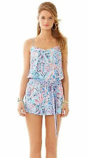 Lilly Pulitzer DUSK TOP ROMPER in Multi Shell Me About It size S
