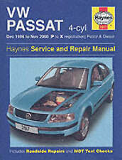 Haynes VW Passat (96-00) Service and Repair Manual by Martynn Randall (H/B 2002)