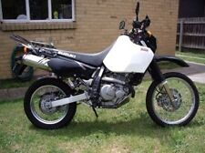 Suzuki DR650 DR650SE Safari 30L Long Range Fuel Tank Petrol Gas White