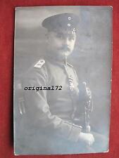 Foto Soldat Offizier I.R.96 mit Orden Eisernes Kreuz 1914 und Säbel IOD