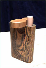 Handcrafted Bacote Swivel Dugout w/ Cigarette Bat