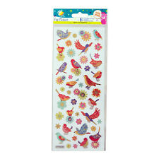 Craft Planet Fun Stickers - Birds & Flowers CPT 805258
